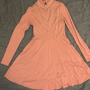 Used Womens Pink Dress